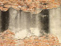 Textured background: old brick wall pattern Stock Photos
