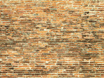 Textured background: old brick wall pattern Royalty Free Stock Photography