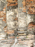 Textured background: old brick wall pattern Royalty Free Stock Images