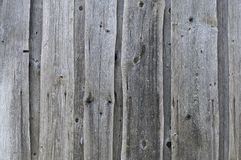 Textured background of old grey faded boards covered with cracks royalty free stock photos