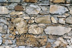 Textured background old stone wall Royalty Free Stock Images