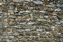 Textured background old stone wall Royalty Free Stock Image