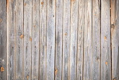 Textured background of old wooden fence Royalty Free Stock Images