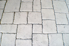 Textured background of pavers Royalty Free Stock Photography