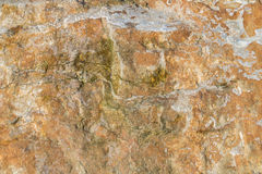 Textured background rock. Surface of the rock with brown tint, textured background Royalty Free Stock Photo