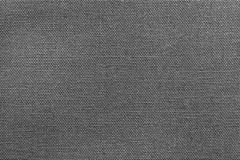 Textured background rough fabric of dark gray color Royalty Free Stock Photography