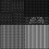 Textured background set. Vector textured background set. Web design abstract backgrounds collection. Patterns stock illustration