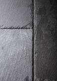 Textured background of slate tiles Stock Photos
