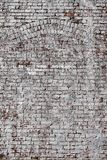 Textured Background Of Whitewashed Bricks Royalty Free Stock Images