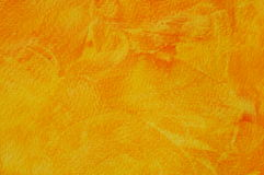 Textured background. Yellow an. Textured background in yellow, orange and red. Handmade Stock Photography