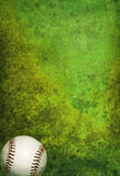Textured Baseball Field Background with Ball Royalty Free Stock Photos