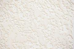 Textured biały tynk tekstury tło Obrazy Royalty Free
