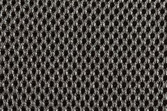 Textured black fabric cloth texture with natural patterns can be. Used as background. Closeup view Royalty Free Stock Image