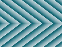 Textured Blue Geometric Lines Angles Symmetric Background Design. Geometric lines and angles in a symmetric repeating arrow shape pattern with gradient shades of royalty free stock photos