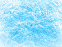 Textured blue ice. Royalty Free Stock Photos