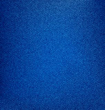 Textured Blue Jeans Denim, Fabric Background Stock Photography