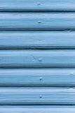 Textured blue wooden wall Stock Photos
