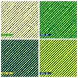 Textured Brazil grunge background Royalty Free Stock Images