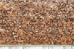 Textured Brick Wall Background or Backdrop Royalty Free Stock Photo