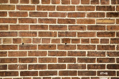 Textured brick wall background. Royalty Free Stock Photo