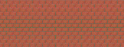 Textured brick wall background symmetrical with clear lines Royalty Free Stock Photo