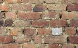 Textured Brickwall Royalty Free Stock Image