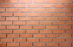 Textured of brown brick wall. Stock Photography