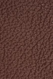 Textured brown leather background Stock Image