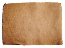 Textured brown paper Stock Photography