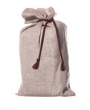 Textured brown sack Stock Photos