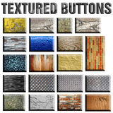 Textured Buttons Royalty Free Stock Image