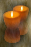 Textured candles Stock Images