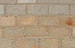 Textured cement brick wall background Stock Photos