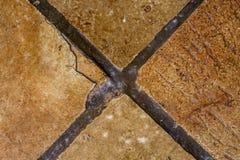 Textured ceramic floor for background. Textured ceramic floor gray art rock tile sandy travertine patchwork slate natural flooring color tiles marble rough stock photos