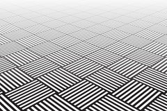 Textured checked surface. Abstract geometric backg Stock Images