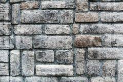 Textured ściana od szorstkich kamieni Zdjęcie Royalty Free