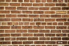 Textured ściana z cegieł tło Zdjęcie Royalty Free