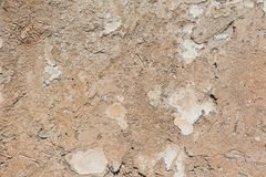 Textured clay wall background Royalty Free Stock Photography