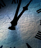 Textured clock Royalty Free Stock Photos