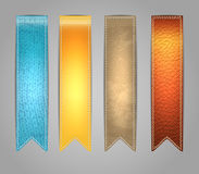 Textured colorful Stickers Stock Photos