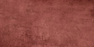 Textured concrete background. Red texture close up blank for design. Copy space Royalty Free Stock Photos