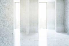 Textured concrete interior Royalty Free Stock Photo