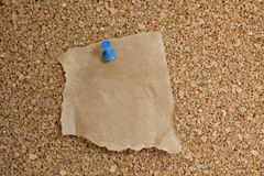 Textured cork bulletin board Stock Images