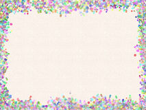 Textured cream colored paper Royalty Free Stock Photos