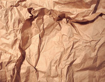 Textured crumpled paper background Stock Photography