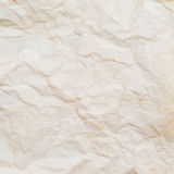 Textured crumpled paper Royalty Free Stock Images