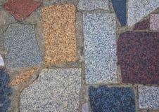Textured dachówkowej podłoga i ściany tło Zdjęcie Royalty Free