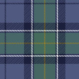 Textured dark tartan plaid Royalty Free Stock Photography