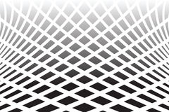Textured distorted surface. Abstract op art  backg Stock Photography