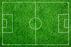 Textured do futebol plástico da grama Imagens de Stock